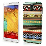 JUJEO Circle Tribal Tribe Hard Case Cover for Samsung Galaxy Note 3 N9000 N9002 - Non-Retail Packaging - Multi Color