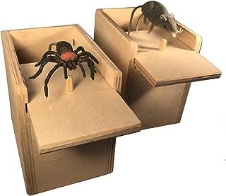 product image for Saving Shepherd Mouse & Spider Surprise Box ~ 2 USA Handmade Fun Prank Gag Gifts