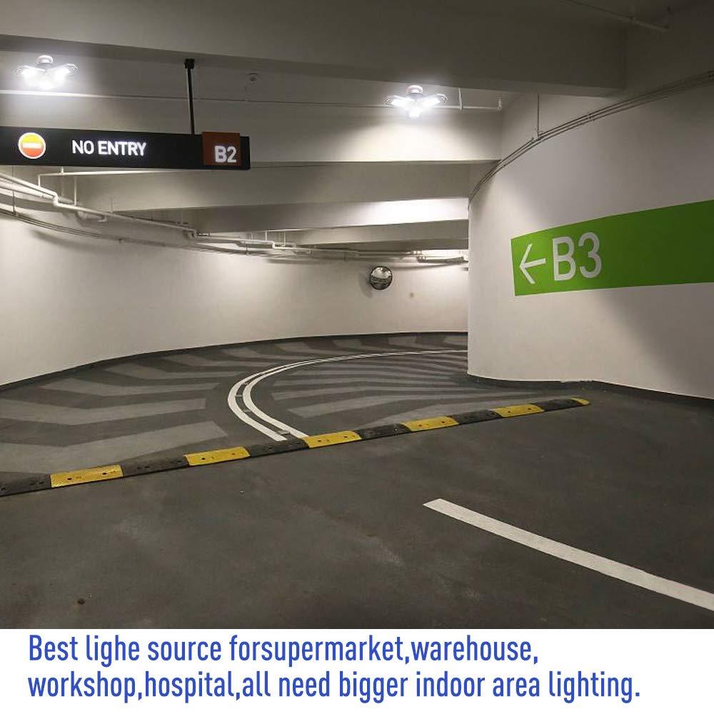 Garage Lighting,E26 Led Bulb 6000LM,Led Garage Ceiling Lights,led Garage Lights,Garage Light Bulb,led Bulb for Garage,led Shop Light,Workshop Light (Daylight, 60w''Standard'') (60w''Standard'' Daylight) by LifeLux (Image #8)