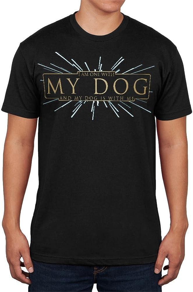 con mi Perro Divertido Fuerza Suave para Hombre T Camisa Vintage Negro X-LG: Amazon.es: Ropa y accesorios