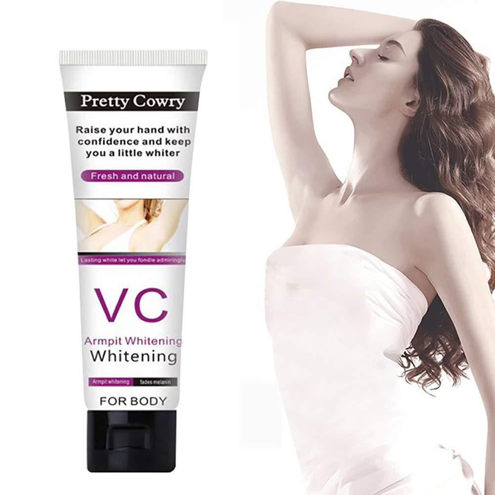 Unterarm Whitening Cream, ROMANTIC BEAR Frauen Achsel Whitening Cream für Dark Spot Remover Fade Unterarm Bikini innere Oberschenkel Ellenbogen Knie Bereichen ROMANTIC BEAR.