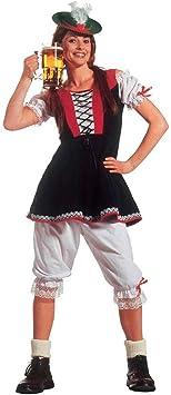 Disfraz de tirolesa Heidi Bayerin vestido para disfraz de tirolesa de ...