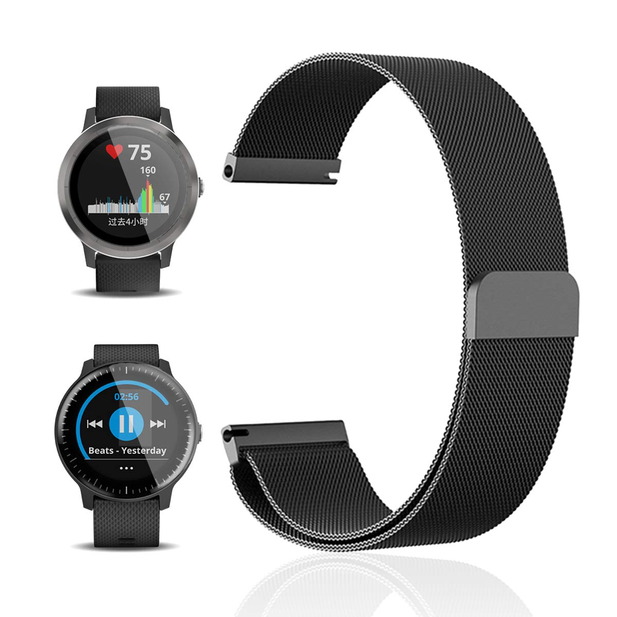 Amazon.com: for Suunto 3 Fitness/Garmin vivoactive 3 Band ...