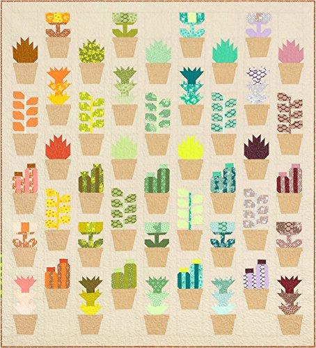 Elizabeth Hartman Terrarium Greenhouse Quilt Kit Robert Kaufman Fabrics KITP-1811-6 by Robert Kaufman Fabrics (Image #3)