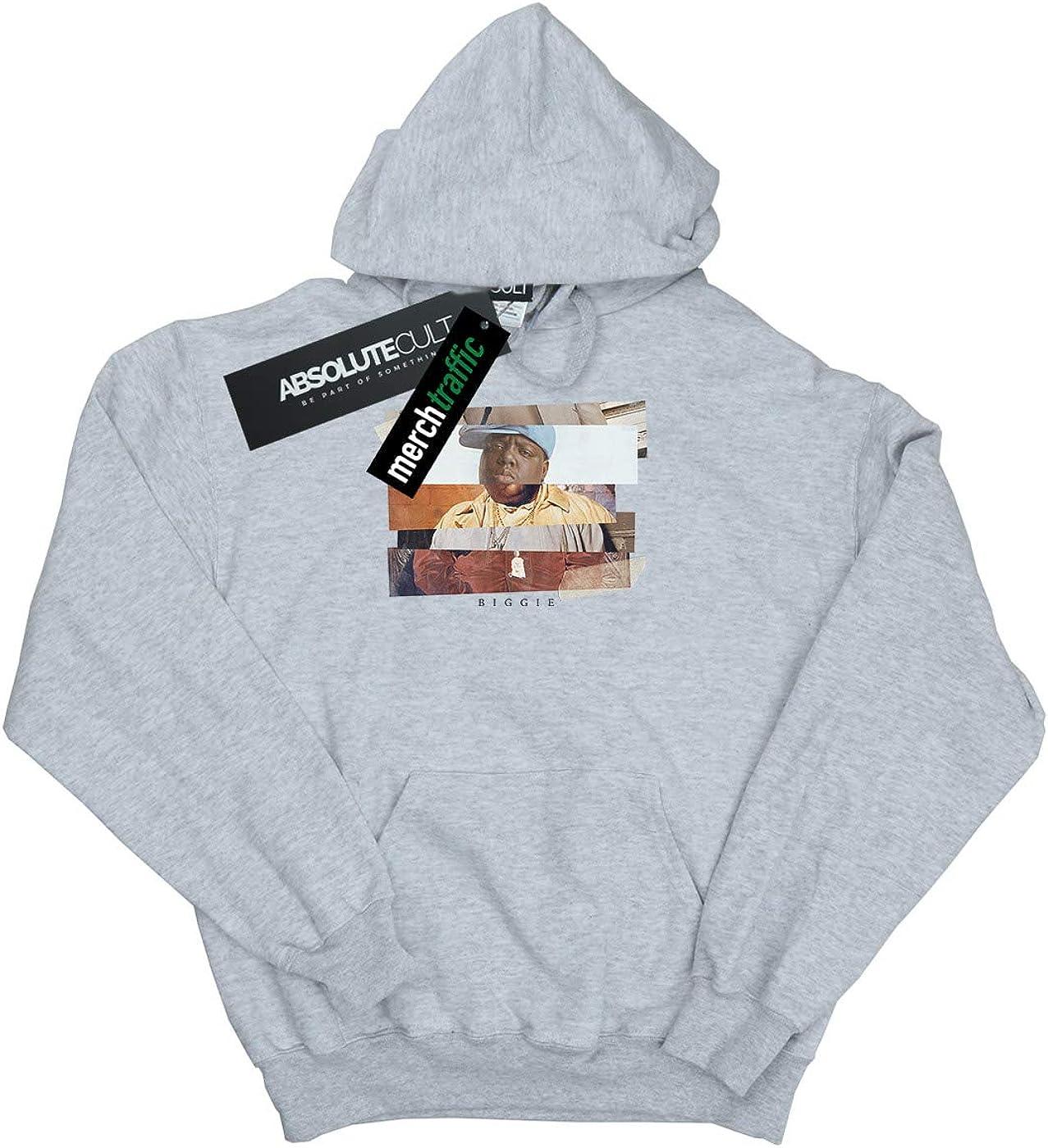 ABSOLUTECULT Notorious Big Girls Sliced Photo Sweatshirt