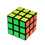 FCBB New PVC Sticker 3x3x3 Smooth Speed Puzzle Cube Black Toy Game