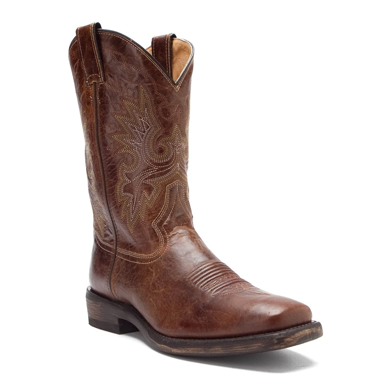 Double H Boot - Mens - Wide Square Toe Casual Western
