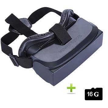 8f63bf09fa7 Lubar HMD-518 VR Glasses Virtual Reality Headset Screen 1080P 3D Video  Movie Game Glasses