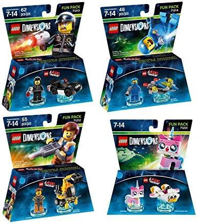 Amazon.com: Lego Dimensions The LEGO Movie Themed Bundle - Emmet ...