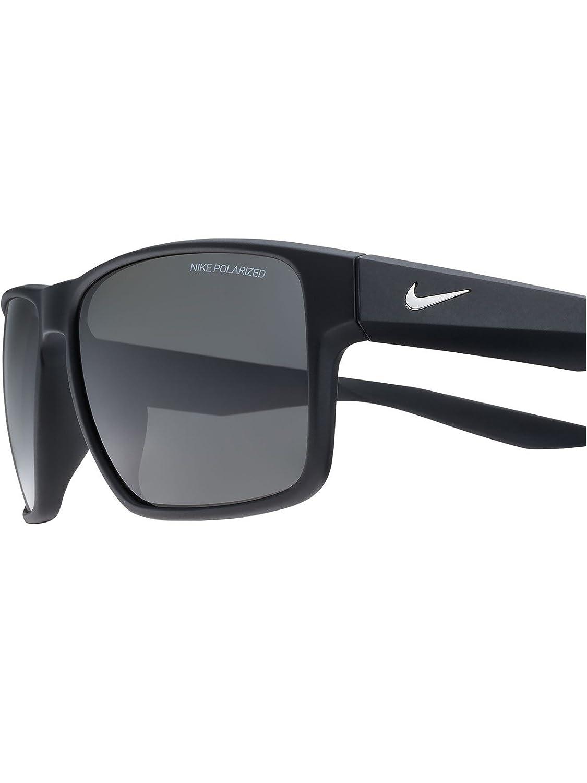 Nike Gafas de sol polarizadas Essential Venture Matte Negro-gris: Amazon.es: Ropa y accesorios