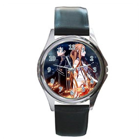 Tiempo Walker Hombre Fácil de leer csdby16618652 Sword Art Online Electric Asuna sublimación pantalla analógica esfera