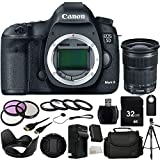 Canon EOS 5D Mark III DSLR Camera with EF 24-105mm f/3.5-5.6 IS STM Lens 32GB Bundle 19PC Accessory Kit. Includes 32GB Memory Card + High Speed Memory Card Reader + Replacement LP-E6 Battery + AC/DC Rapid Home & Travel Charger + MORE - International Version (No Warranty)