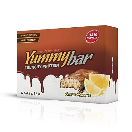 Bodyraise YummyBar Crunchy Protein Bar 6x35g - Suplemento ...