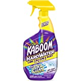 Kaboom Hardwater Bathroom Cleaner, Lime, Calcium & Rust Remover with oxi Clean Stain Fighters, 32 Ounce