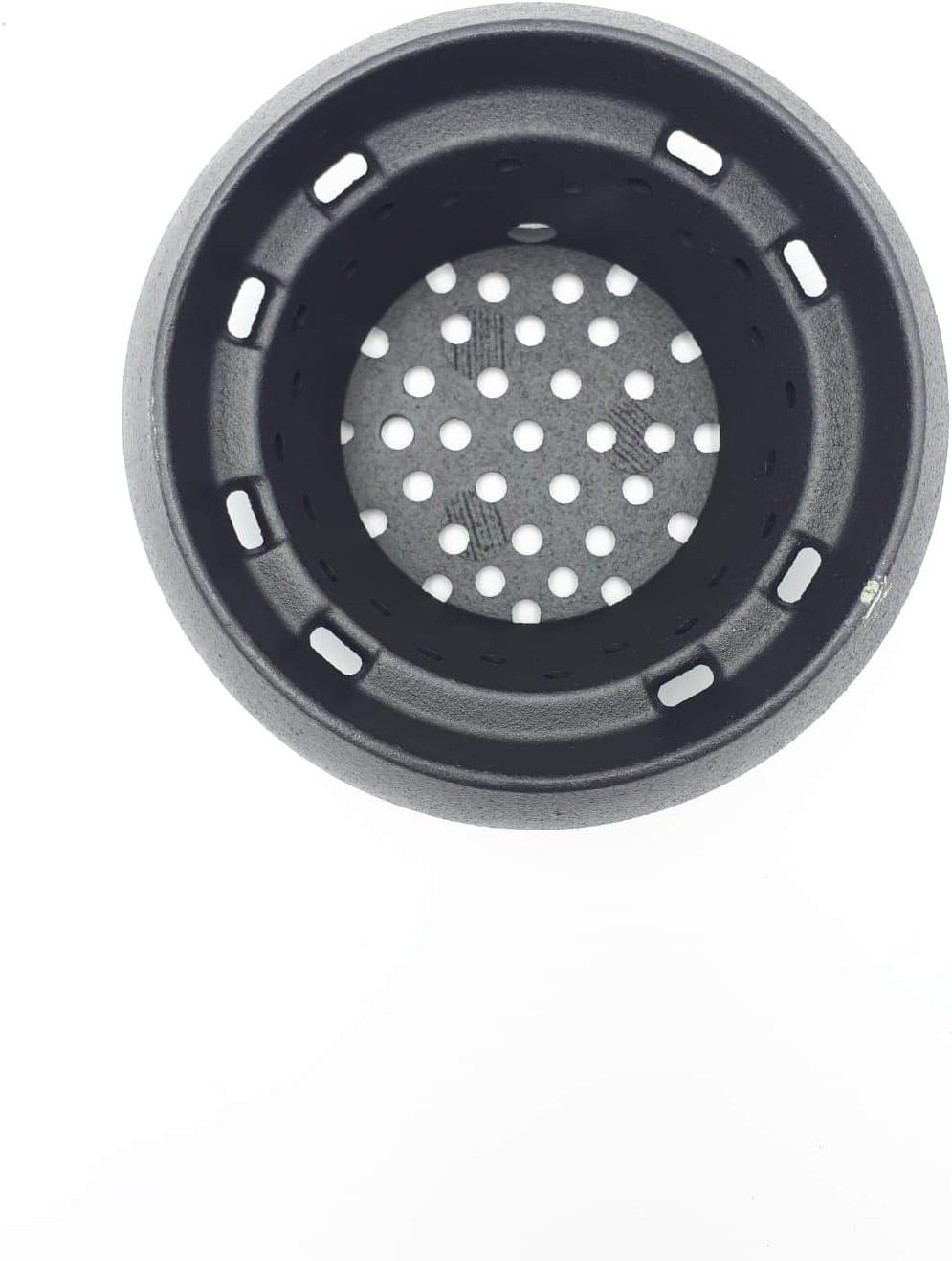 Palazzetti Royal 895713850 - Quemador redondo mini 6-9 kW V08 para estufa de pellets
