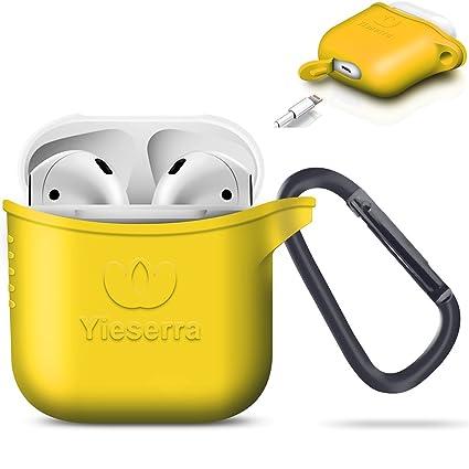 Amazon.com: yieserra airpods Funda con clip Protectora de ...