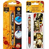 The Walking Dead Gel Pen Set (3 Pack (Gel Pens with Bookmark))