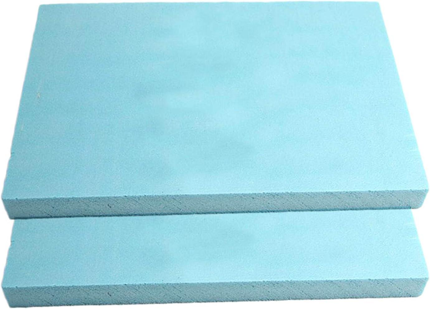 freneci Lastra in Schiuma da 10 Pezzi 30x20x2cm Materiale Fai-da-Te Rocce Montagne Paesaggio Blu