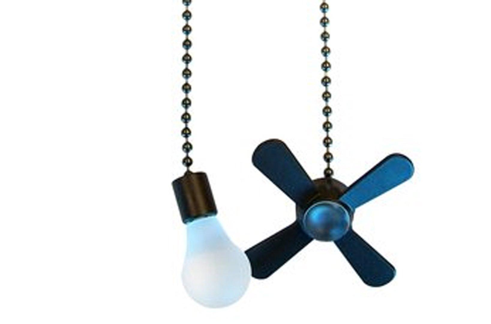 Ceiling Fan Pull Chain Set (Bronze)