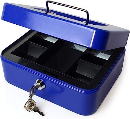 iGadgitz Home U7172 Caja Fuerte Portatil Caja Metalica con Llave y ...