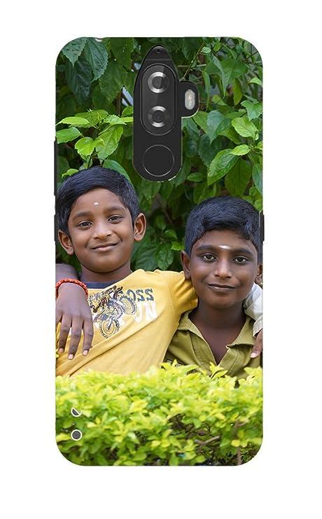 save off e2e8c cf52e Sai colour/Magic prints Plastic Personalized 3D Printed Mobile Back Case  with Your Own Photo and Message for Lenovo k8 Note (Multicolour)