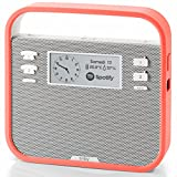 Invoxia Smart portable Alexa Speaker, Red