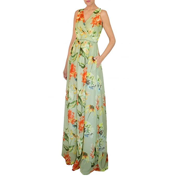 Vestido NICE estampado exclusivo para fiestas, bodas, eventos, invitada ARIMOKA