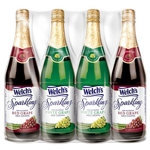 Welch's Sparkling Juice Cocktail Variety Pack (750 ml, 4 ct.)