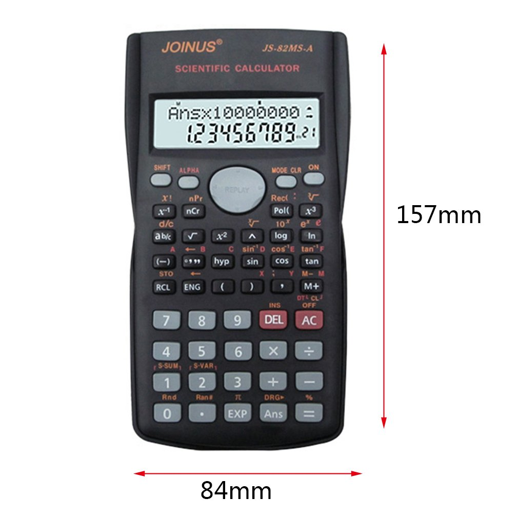Multifuncional Scientific 2 L/ínea LCD Calculadora Calculadora Port/átil Funciones Funci/ón 240 Funciones