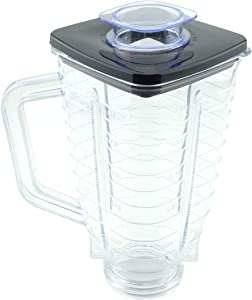 5-Cup Plastic Blender Jar with Lid for Oster Blenders Replacement Part 089