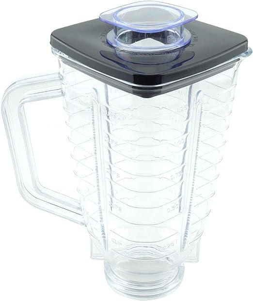 Jarra de plástico para licuadora de 5 tazas con tapa para Oster ...