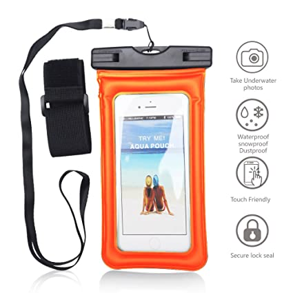 Amazon.com: Universal Funda Impermeable, beimu Cellphone ...
