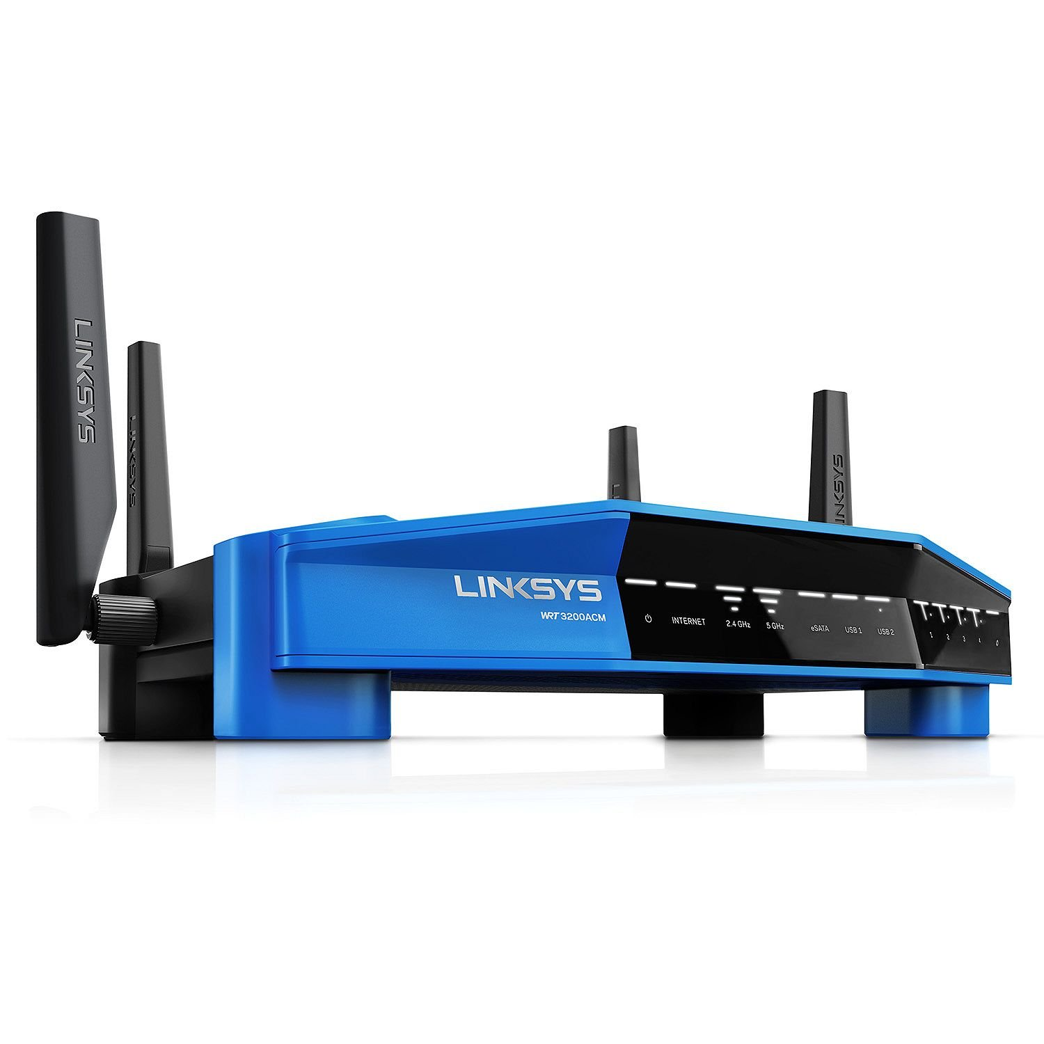 Linksys WRT3200ACMA-4T Linksys Wi-Fi Router with Bonus AC600 USB Adapter by Linksys