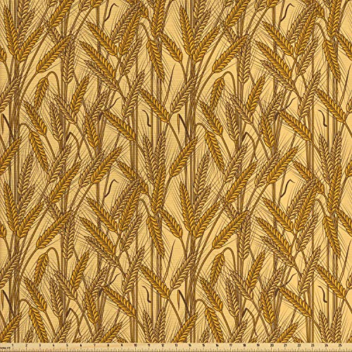 mustard yellow upholstery fabric - 9
