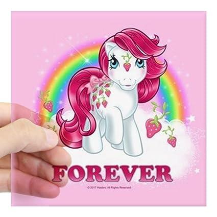 Amazon Com Cafepress My Little Pony Retro Sugarb Square