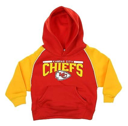 a7f50e0f Outerstuff NFL Little Boys Toddlers Performance Pullover Fleece Hoodie,  Kansas City Chiefs, 2T