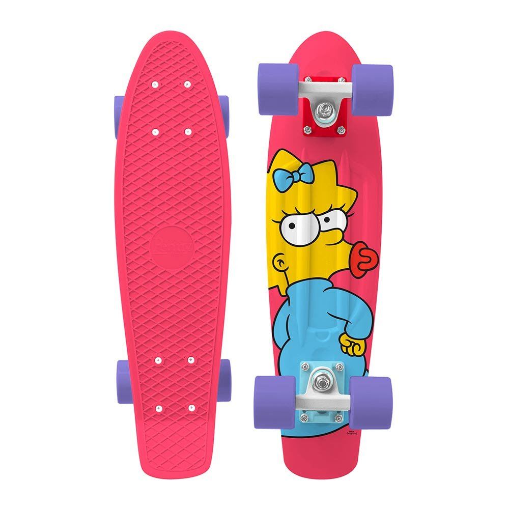 Penny Skateboard - The Simpsons Limited Edition (Maggie) by Penny Australia