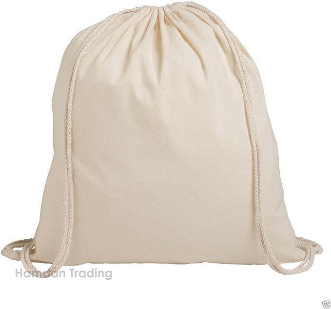 mochila de tiras, en packs de 1/3/5/10/25/50/100, de algodón ...