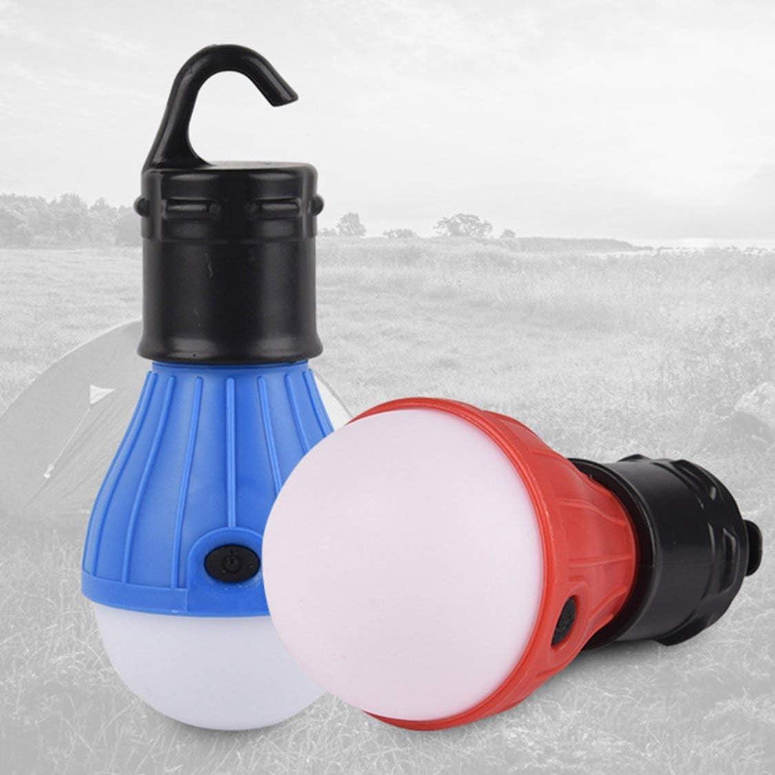 Dynamovolition Mini Linterna port/átil Tienda luz LED Bombilla Impermeable Gancho Colgante Linterna para Acampar