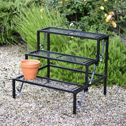 best etagere de jardin pour plantes pictures design. Black Bedroom Furniture Sets. Home Design Ideas