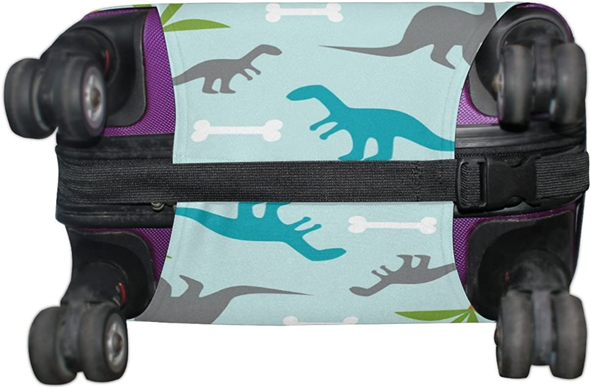 LAVOVO Dinosaurs Dion Luggage Cover Suitcase Protector Carry On Covers