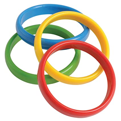 amazon com us toy s s worldwide plastic throw rings 12 pack toys