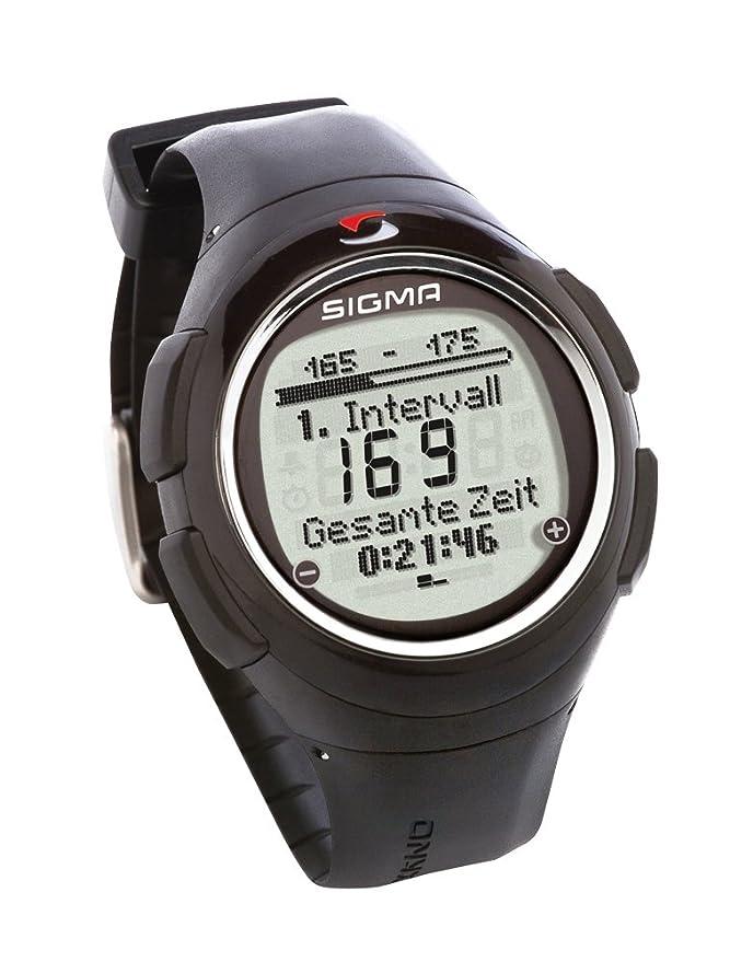 Sigma Onyx Pro - Reloj Deportivo (Negro, CR2032): Amazon.es ...