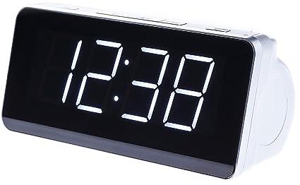 Camry Radio Despertador, plastico, Blanco, x: Amazon.es: Electrónica