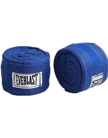 Uzinb 2 Rollos de algodón 3M Deportes Correa de Boxeo Vendaje de Sanda Muay Thai Guantes