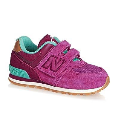 New Balance Trainers - New Balance Kids 574 Velcro Trainers - Purple Blue 49b257bdc08a