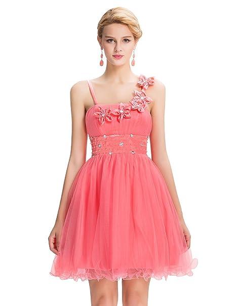 b434c41bed94 Quissmoda vestido corto largo fiesta, noche, gala, talla 50, color ...