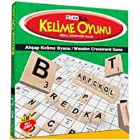 Redka Ahşap Kelime Oyunu Kelime Üretme Kelime Avı Yerli Scrabble