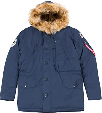 sale retailer 32eb9 1ff57 Alpha Industries Herren Polar Jacket Parkas