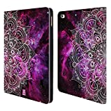 Head Case Designs Nebula Mandala Doodles Leather Book Wallet Case Cover for Apple iPad Air 2